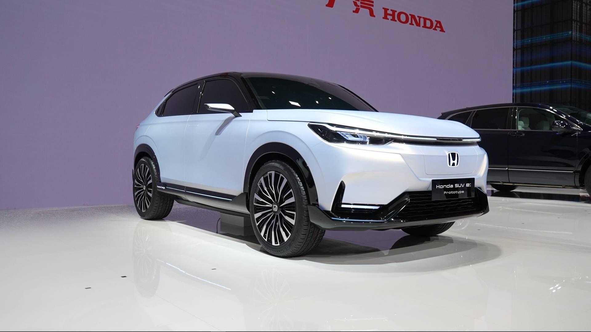 Honda SUV e:prototype亮相!本田粉带你逛上海车展本田展台!